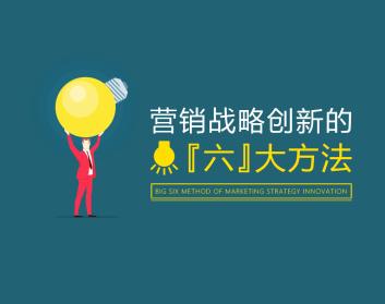 营销战略创新的六大方法(3集)