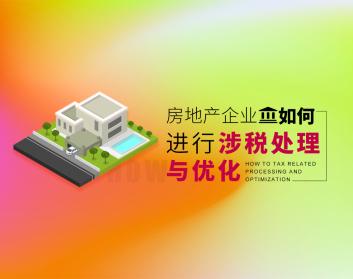 房地产企业如何进行涉税处理与优化(13集)