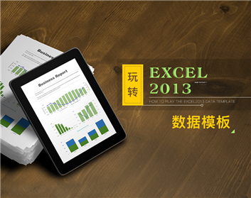玩转Excel2013数据模板(3集)