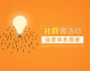 社群微活動運營體系搭建(2集)