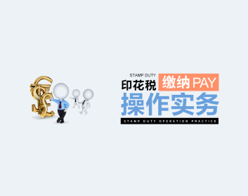 印花税缴纳操作实务(12集)