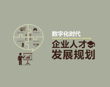 数字化时代企业人才发展规划(4集)