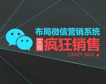 布局微信营销系统,实现疯狂销售(6集)