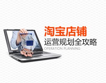 淘宝店铺运营规划全攻略(7集)