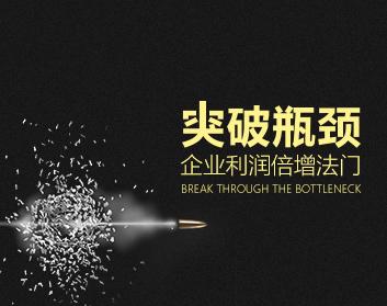 突破瓶頸——企業利潤倍增法門(2集)