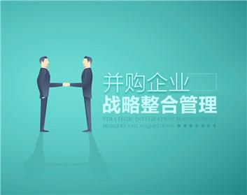 并购企业战略整合管理(4集)