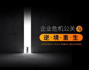 企业危机公关与逆境重生(3集)