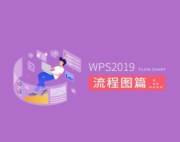 WPS2019:流程圖篇(2集)