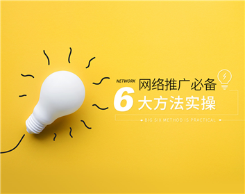 网络推广必备六大方法实操(8集)