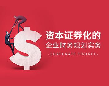 资本证券化的企业财务规划实务(2集)