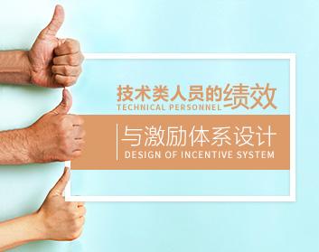 技術類人員的績效與激勵體系設計(2集)