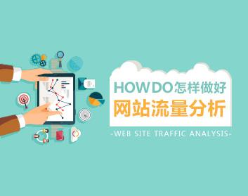 怎样做好网站流量分析(7集)