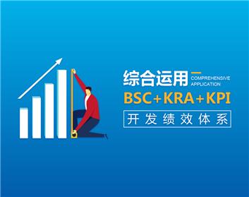 综合运用BSC+KRA+KPI开发绩效体系(4集)