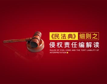 《民法典》细则之侵权责任编解读(2集)