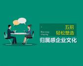 五招轻松塑造归属感企业文化(3集)
