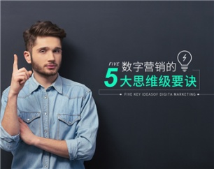 数字营销的5大思维级要诀(3集)