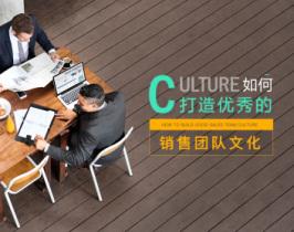 如何打造优秀的销售团队文化